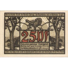Paulinzella Gemeinde, 2x25pf, 4x50pf, Set of 6 Notes, 1053.1c