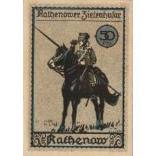 Rathenow Stadt, 1x50pf 1x75pf 1x80pf 1x90pf, Set of 4 Notes, 1099.2
