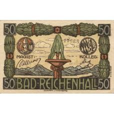 Reichenhall, Bad Stadt, 50 Pfennig, R22.1b