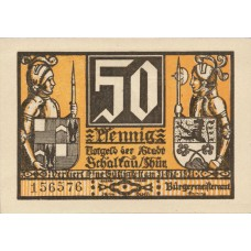 Schaltau Stadt, 6x50pf, Set of 6 Notes, 1171.1
