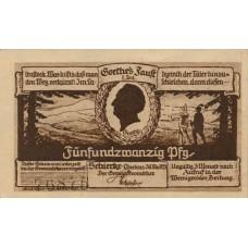Schierke im Harz Gemeinde, 25 Pfennig, 1178.1b