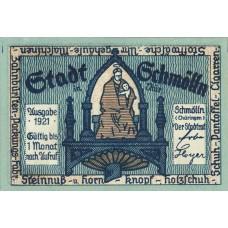 Schmölln Stadt, 4x50pf, Set of 4 Notes, 1189.2