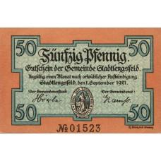 Stadtlengsfeld Gemeinde, 6x50pf, Set of 6 Notes, 1251.1a