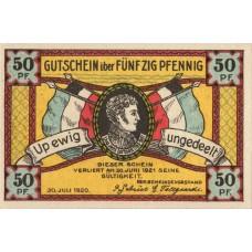 Steinfeld Gemeinde, 1x50pf, Set of 1 Note, 1262.2a